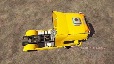 Scania R560 yellow für Farming Simulator 2013