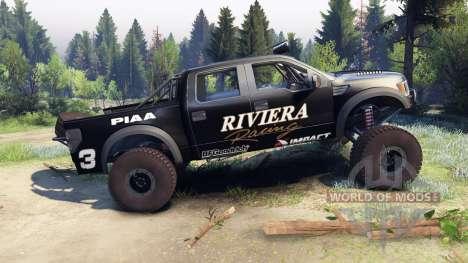 Ford Raptor Pre-Runner v1.1 riviera für Spin Tires