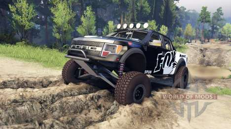 Ford Raptor Pre-Runner fox für Spin Tires