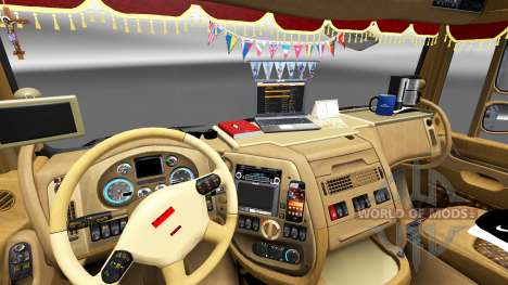 Nouvel intérieur DAF trucks pour Euro Truck Simulator 2