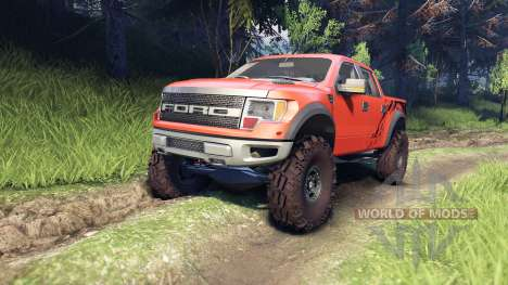 Ford Raptor SVT v1.2 factory comp orange für Spin Tires
