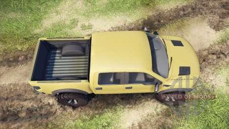Ford Raptor SVT v1.2 olive pour Spin Tires