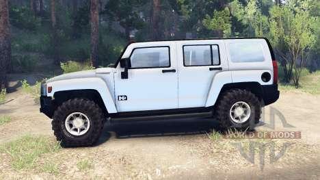Hummer H3 v0.2 pour Spin Tires