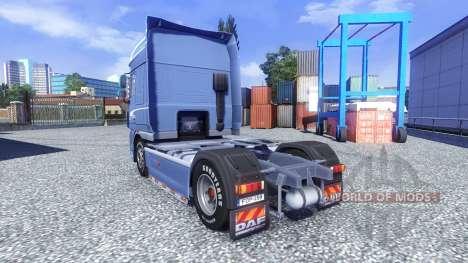DAF XF 105 Blue Edition pour Euro Truck Simulator 2