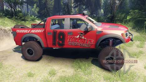 Ford Raptor Pre-Runner terrible herbst für Spin Tires