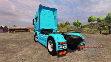 Scania R560 blue pour Farming Simulator 2013