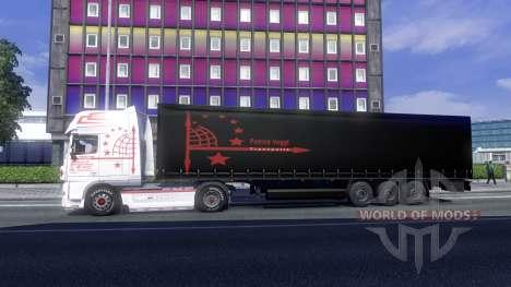 Haut Patrick Vogtt für DAF XF Sattelzug für Euro Truck Simulator 2