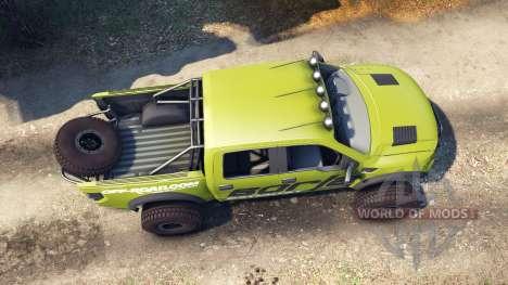 Ford Raptor Pre-Runner borla pour Spin Tires