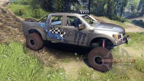 Ford Raptor Pre-Runner monster für Spin Tires