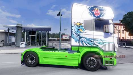 La peau Gryf pour Scania camion pour Euro Truck Simulator 2