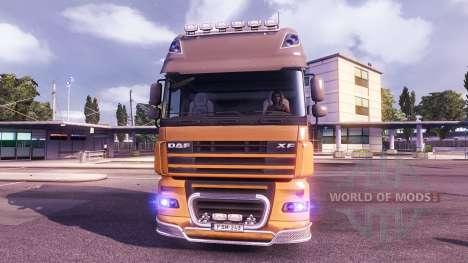 Das Blaue Leuchten der Scheinwerfer für Euro Truck Simulator 2