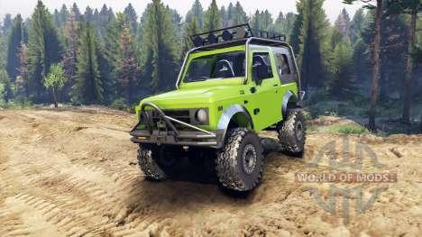 Suzuki Samurai Extreme v1.5 für Spin Tires