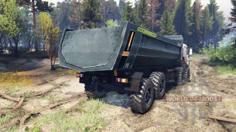 KamAZ-44108 Mustang pour Spin Tires
