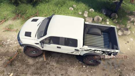 Ford Raptor SVT v1.2 factory terrain für Spin Tires