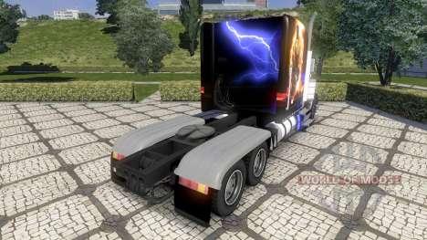 Peterbild 379 new skin pour Euro Truck Simulator 2