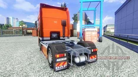 Die Lowe-skin für den DAF XF Sattelzug für Euro Truck Simulator 2