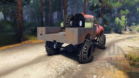 Dodge Power Wagon B-17 Rocks v1.2 pour Spin Tires