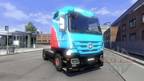 La peau Ihro Jumbo GmbH sur le tracteur Majestue pour Euro Truck Simulator 2
