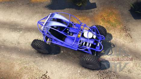 Screamin Blue pour Spin Tires