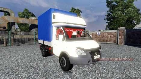GAZ-3302 Gazelle pour Euro Truck Simulator 2
