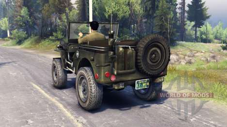 Jeep Willys [13.04.15] pour Spin Tires