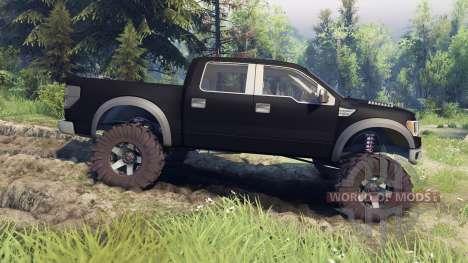 Ford Raptor SVT v1.2 matte black für Spin Tires