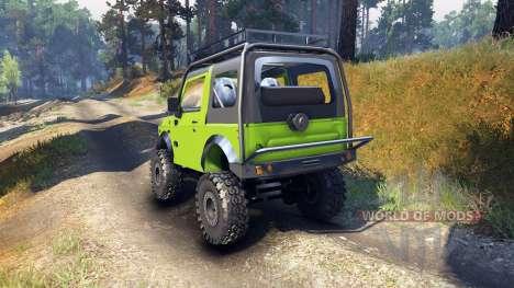 Suzuki Samurai Extreme für Spin Tires