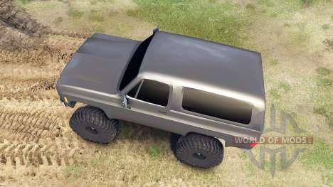 Chevrolet K5 Blazer 1975 pour Spin Tires