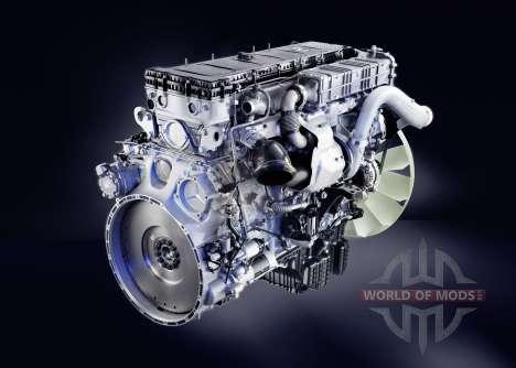 Le son du moteur diesel Mercedes-Benz Actros pour Euro Truck Simulator 2