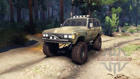 Toyota Land Cruiser 60 v1.1 pour Spin Tires