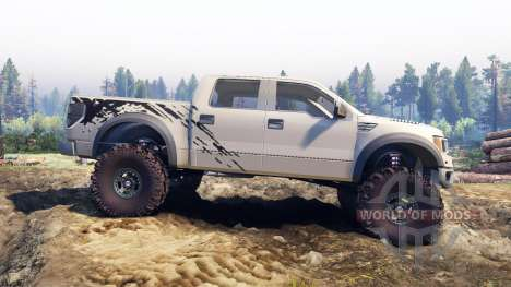 Ford Raptor SVT v1.2 factory pale adobe für Spin Tires
