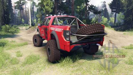 Ford Raptor Pre-Runner terrible herbst pour Spin Tires