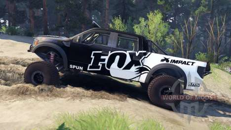 Ford Raptor Pre-Runner fox pour Spin Tires
