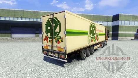 Haut AZ Kempen auf dem Anhänger für Euro Truck Simulator 2