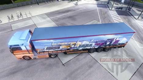 La peau Showtruck sur le camion de l'HOMME pour Euro Truck Simulator 2