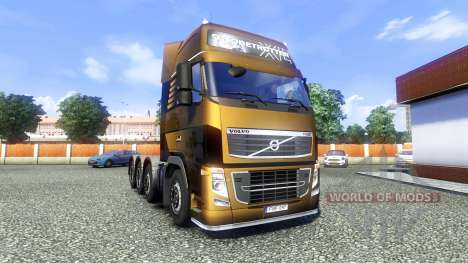 Volvo FH16 8x4 Heavy Duty für Euro Truck Simulator 2