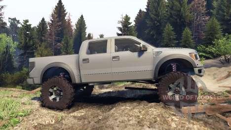 Ford Raptor SVT v1.2 matte gray für Spin Tires