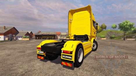 Scania R560 yellow für Farming Simulator 2013