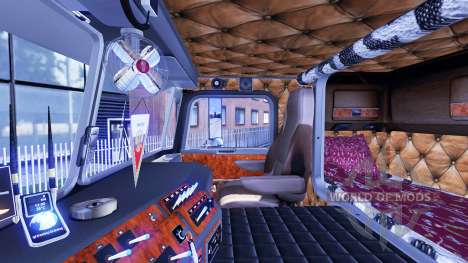 Kenworth K100 v1.5 pour Euro Truck Simulator 2