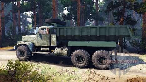 KrAZ-255 v3.0 pour Spin Tires
