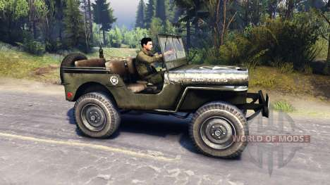 Jeep Willys [13.04.15] für Spin Tires