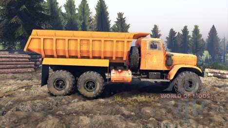 KrAZ-255 B1 v3.0 pour Spin Tires