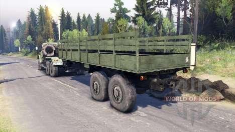 ZIL-137. für Spin Tires