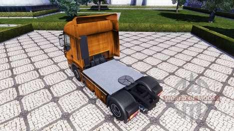 Haut Rusty auf der Sattelzugmaschine Iveco Stral für Euro Truck Simulator 2