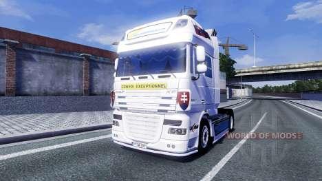 DAF XF Tuning Felbermayr pour Euro Truck Simulator 2