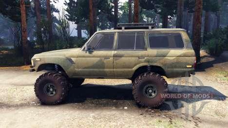 Toyota Land Cruiser 60 v1.1 pour Spin Tires