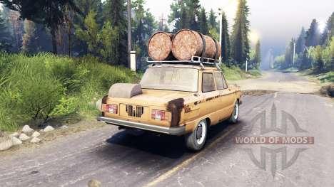 ZAZ-968 m v0.2 für Spin Tires