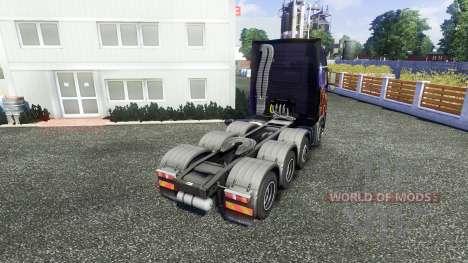 Volvo FH16 8x4 v2.0 super control pour Euro Truck Simulator 2