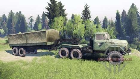 ЗиЛ-137 caravane pour Spin Tires