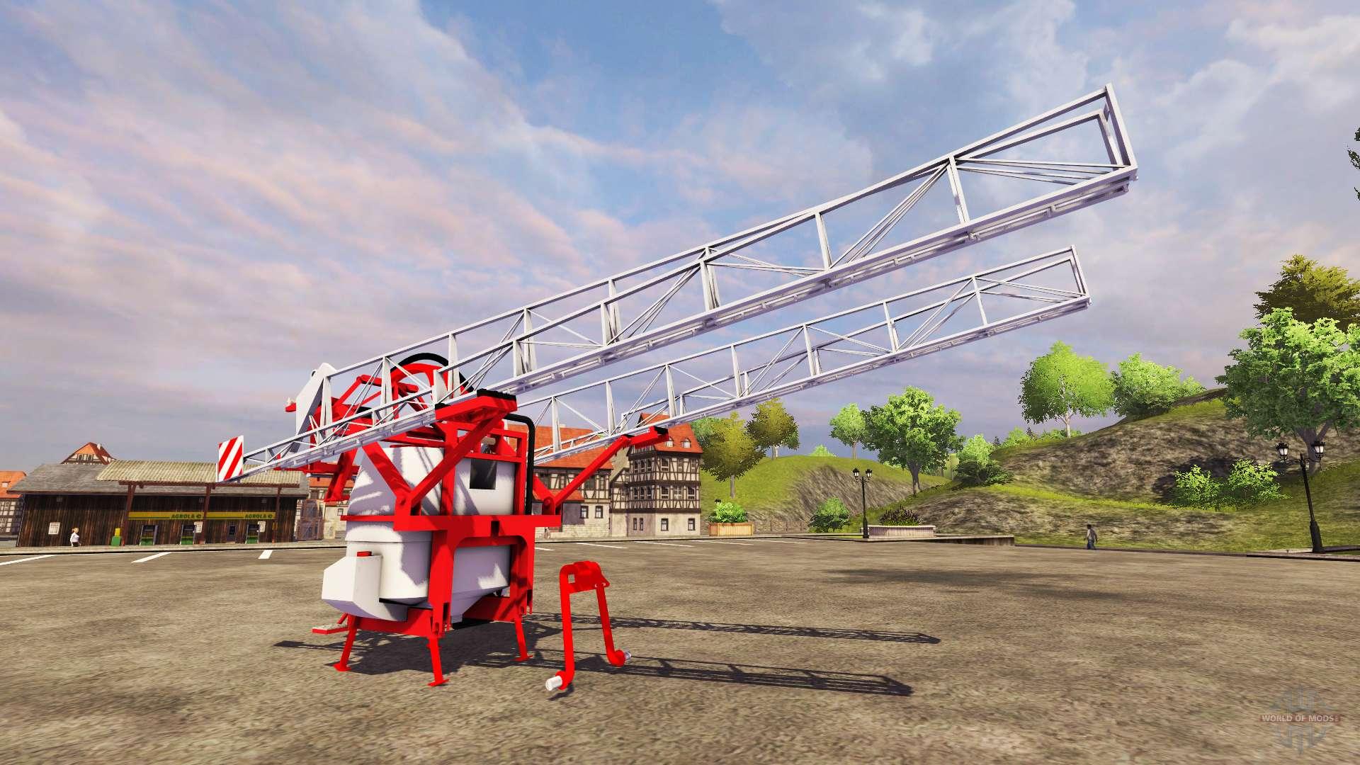 Kuhn altis 1800 pour farming simulator 2013 for Engrais 3 fois 15